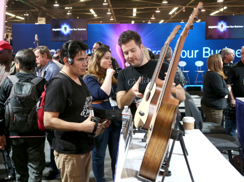 Jesse Grant/Getty Images for NAMM